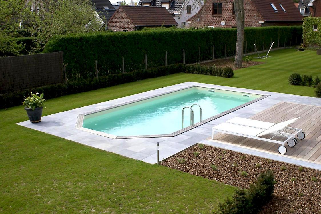 Houten zwembaden - Ontwikkeling rond het zwembad ...